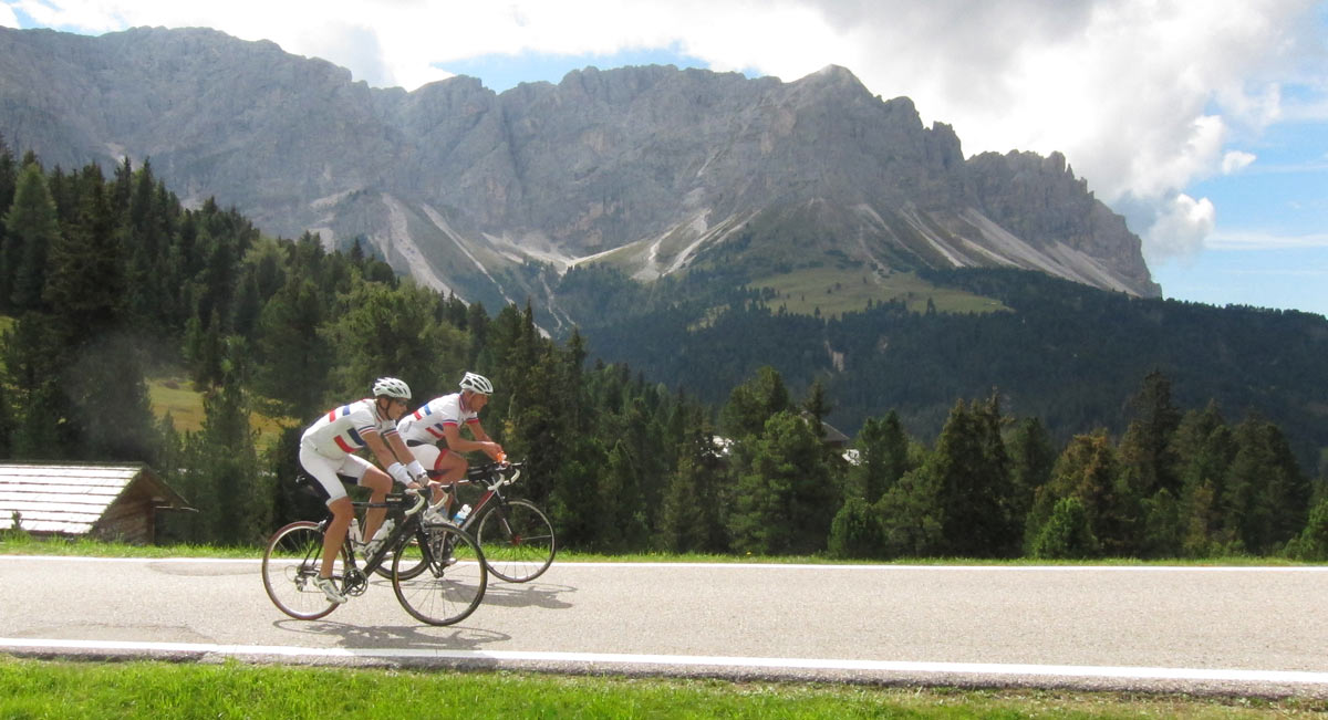 Classic Climbs: Bike Tour in the Dolomites